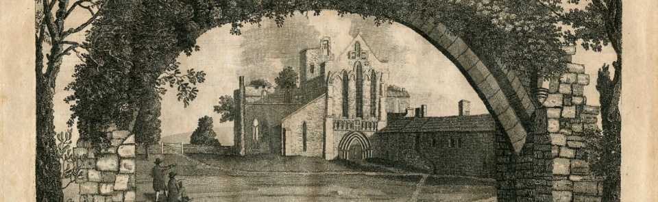 Lanercost Priory, from Hutchinson's History of Cumberland 1794.  For more images see Gallery