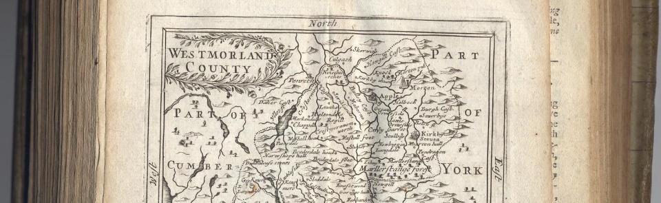 John Senex, Principal Roads, 1719