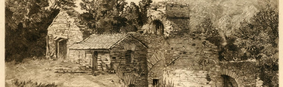 Duddon Furnace, from Alfred Fell, The Early Iron Industry of Furness, 1908
