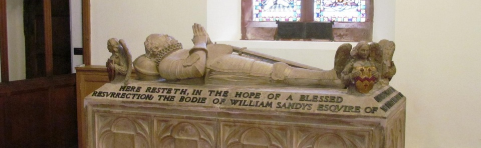 Sandys monument, Ulverston Parish Church