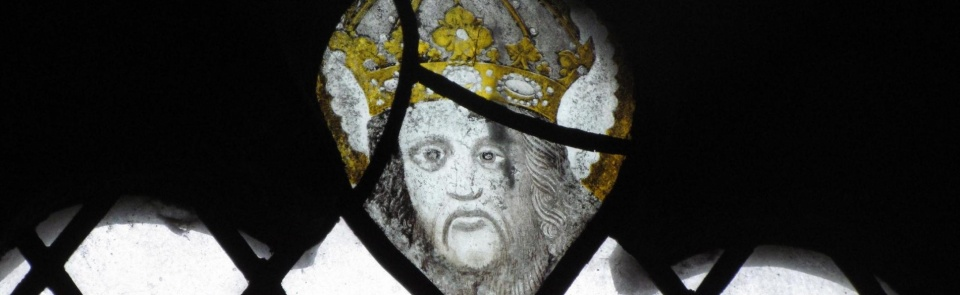 Medieval glass, Kendal Parish Church