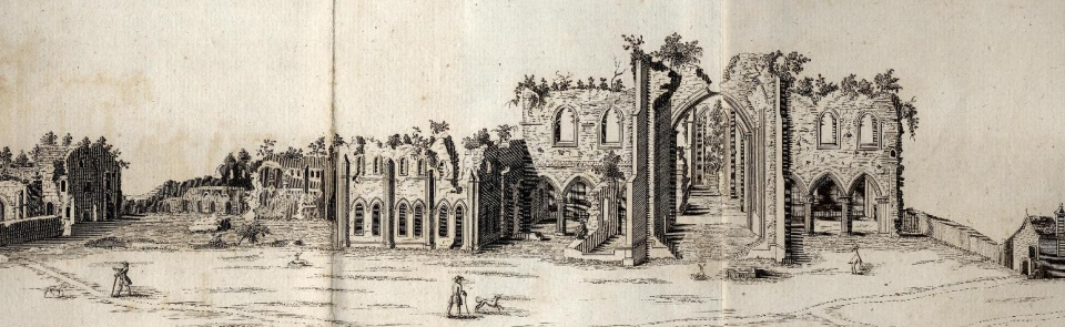 Furness Abbey, Thomas West, 1774