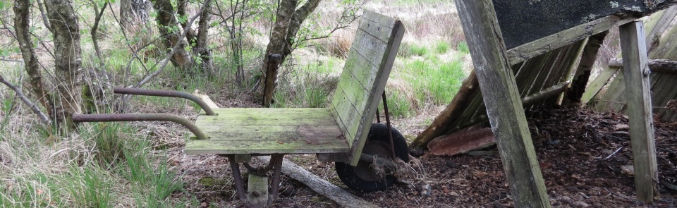 Peat barrow, Foulshaw Moss