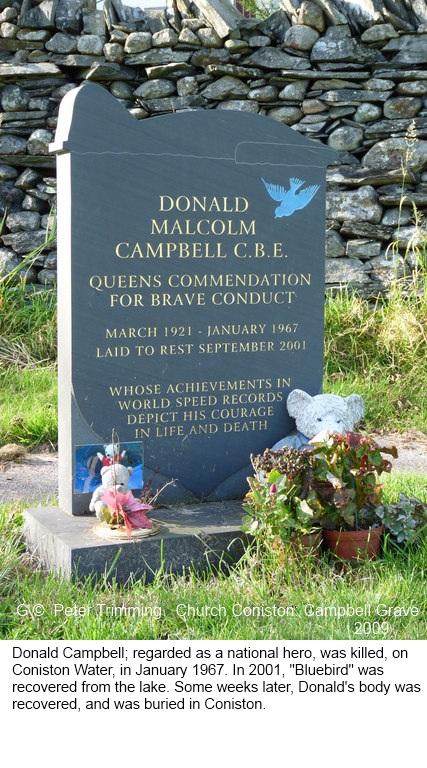 Church Coniston 7 -SD3097 Donald Campbell Grave