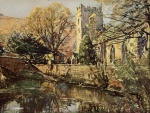 02 Grasmere Church, A Reginald Smith, from W G Collingwood, The Lake Counties 1932