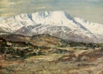 04 Snow-capped Wetherlam, A Reginald Smith, from W G Collingwood, The Lake Counties 1932