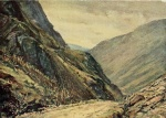 08 The Honister Pass, A Reginald Smith, from W G Collingwood, The Lake Counties 1932