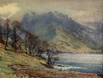09 Buttermere, A Reginald Smith, from W G Collingwood, The Lake Counties 1932