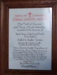 Castle Sowerby Roll of Honour 1914-1918