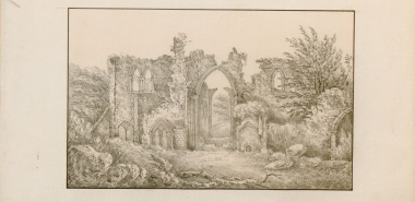 West View of Furness Abbey