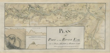 Plan of Part of the River Esk