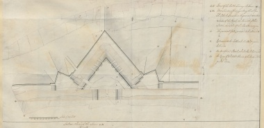 Plan of a New Work, Carlisle Castle 1746