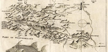 George Smith's map of the Black Lead Mines, Gentleman's Magazine 1751