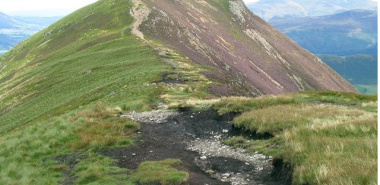 Above Derwent 1 - NY2120  Causey Pike from West