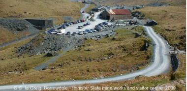 Borrowdale 2 -NY2213  Honister slate mine works & visitor centre