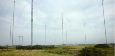 Bowness-on-Solway - 1 NY1857 Anthorn Radio Masts