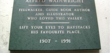 Buttermere 3 -NY1716  Wainwright Memorial window