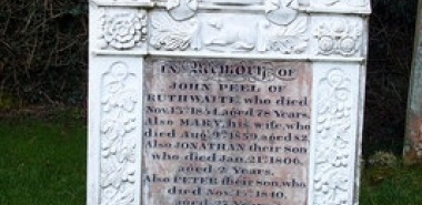 Caldbeck 4 - NY3239 John Peel's Grave.jpg