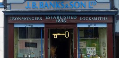 Cockermouth 6- NY1230 Banks Ironmongers