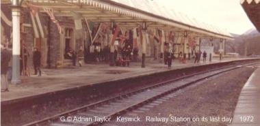 Keswick 3 - NY2723 Railway station on its last day
