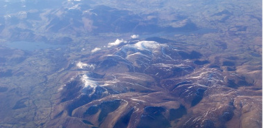 Skiddaw 2 - Skiddaw from the air