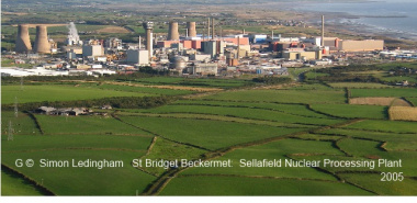 St Bridget Beckermet 1 -NY0203 Sellafield Nuclear Processing Plant