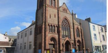Whitehaven 2 -NX9717  United Reformed Church