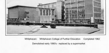 Whitehaven 20 -NX9717 Whitehaven College of FE 1962