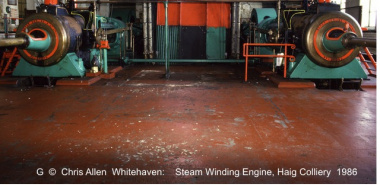 Whitehaven 5 -NX9717  Steam Winding Engine Haig Colliery