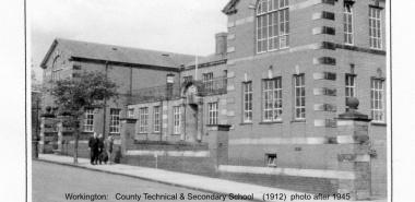Workington 1 -NY9928 County Technical & Secondary School