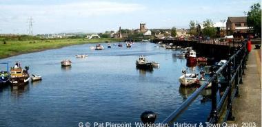 Workington 6 -NY9929  Harbour & Town Quay