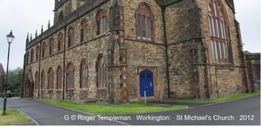 Workington 9 -NY9928  St Michael's Church