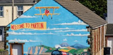 Parton 2 Wall Mural