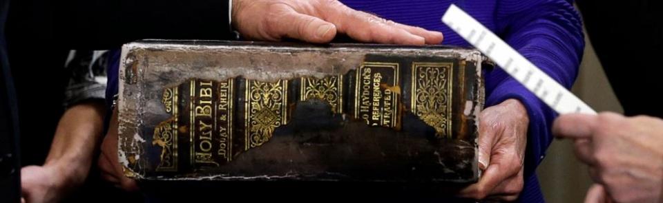 Biden Family Bible (Josh Hamer/Getty Images)