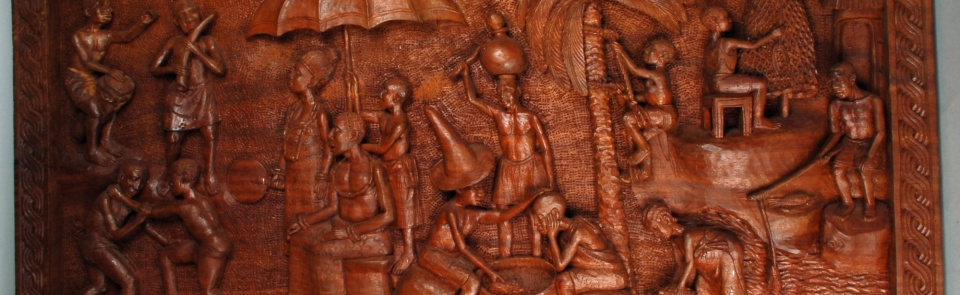 Carved wooden panel from Benin City [© The Trustees of the British Museum, licenced for use under Creative Commons Attribution-NonCommercial-ShareAlike 4.0 International (CC BY-NC-SA 4.0) license]