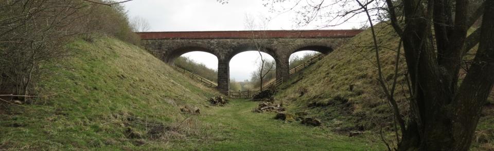 Railway viaduct, Smardale