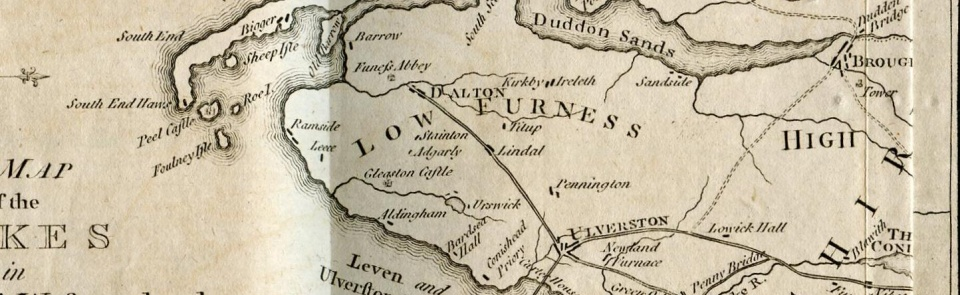 Low Furness, from A Guide to the Lakes